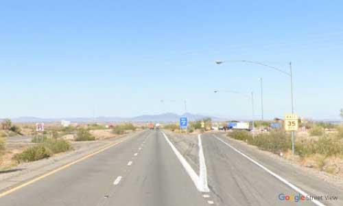 az interstate i10 rest area westbound exit mile marker 4