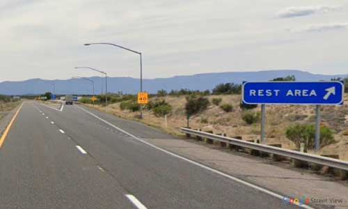 az interstate i17 rest area southbound exit mile marker 296