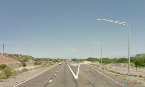 az interstate i19 rest area southbound exit mile marker 53