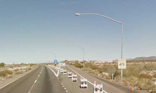 az interstate i40 rest area eastbound exit mile marker 23