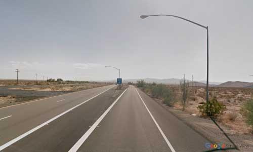 az interstate i40 rest area westbound exit mile marker 23