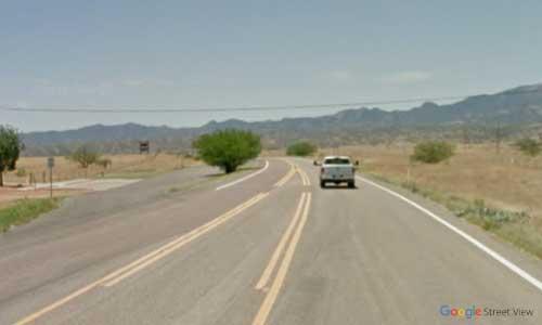 az state route az82 sonoita rest area southbound