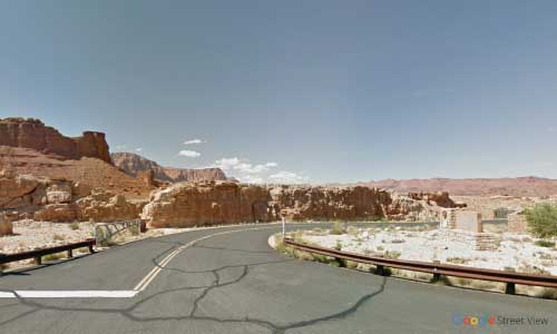 az us route us89a marble canyon rest area bidirectional